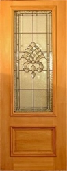 3. Cairns 275 GTG 2040 x 820 x 40mm Featuring Bevelled Triple Glass lead Light